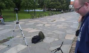 Natáčení pozvánkového videa v Bratislavě