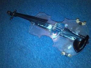 odpadky housle